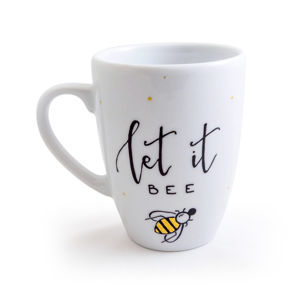 Kubek LET IT BEE - 360 ml