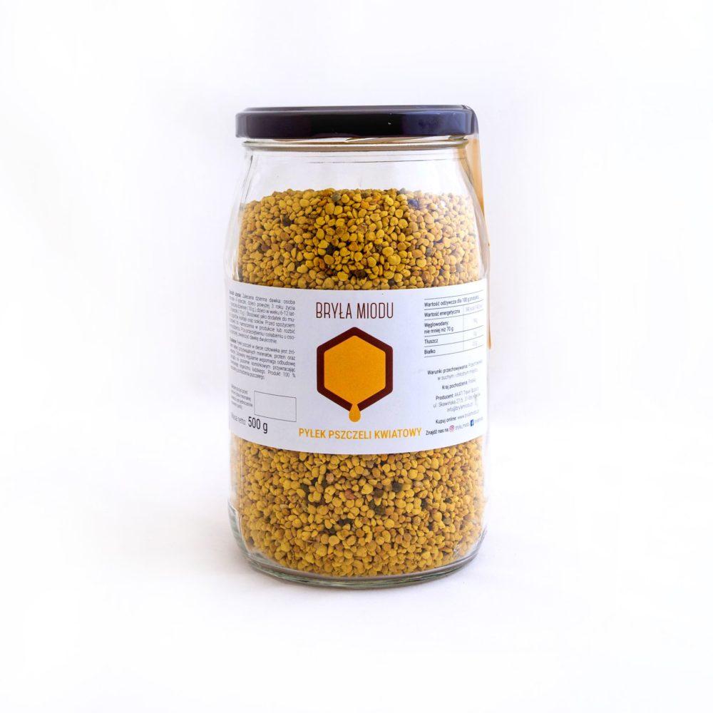 Pyłek pszczeli ze zbiorów V 2020 r.