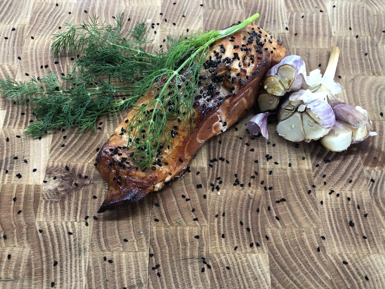 Miód Lipowy podstawą dobrego sosu Teriyaki.