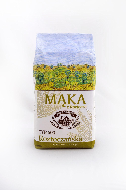 Mąka z Roztocza - typ 500 Roztoczańska